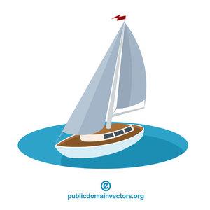 596 free clipart sailing boat.