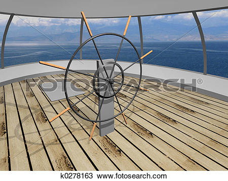 Drawing of Yacht deck k0278163.