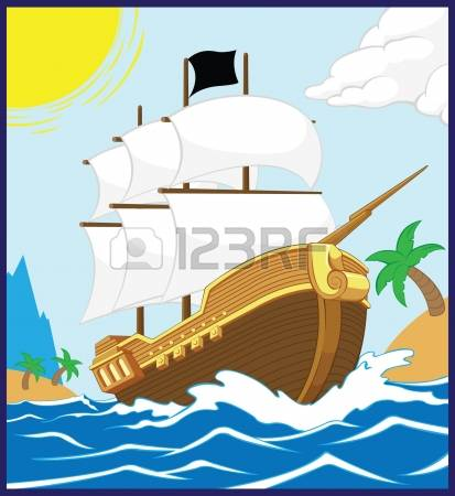 570 Yacht Deck Stock Vector Illustration And Royalty Free Yacht.