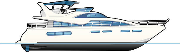 527 Yacht free clipart.