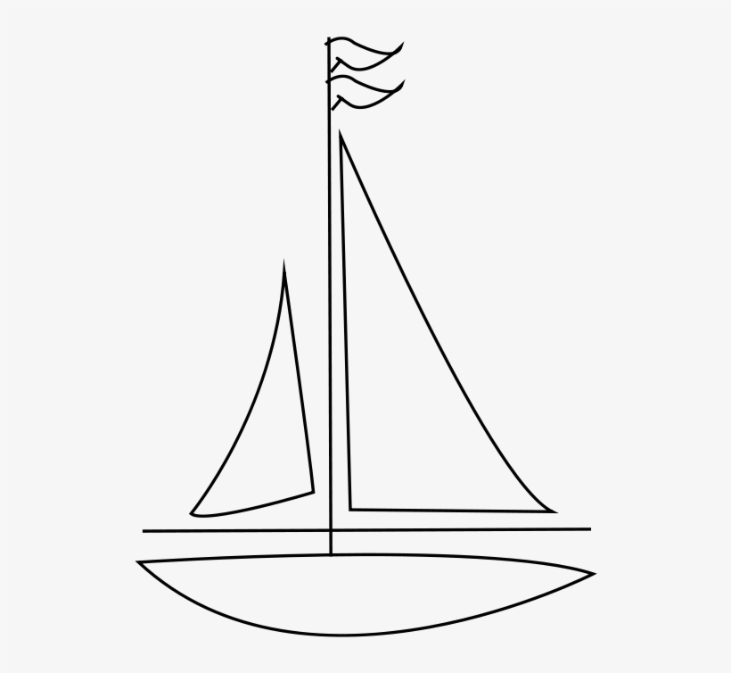 Sailing Boat Clipart Transparent Background.