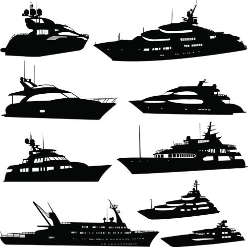 Vector motor yacht Free vector in Adobe Illustrator ai ( .ai.