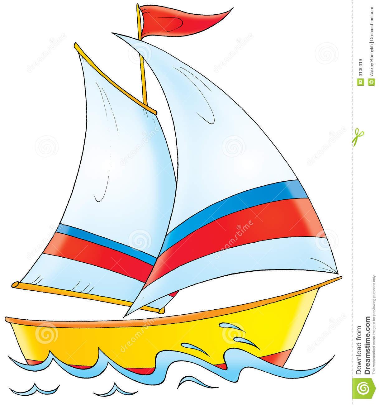 Yacht Clipart.