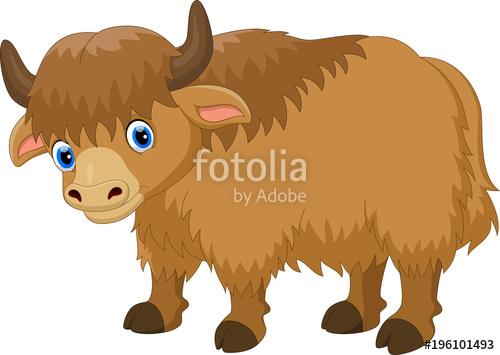 Yak clipart hairy animal, Yak hairy animal Transparent FREE.