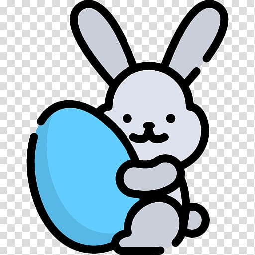 Computer Icons Rabbit , easter bunny transparent background.