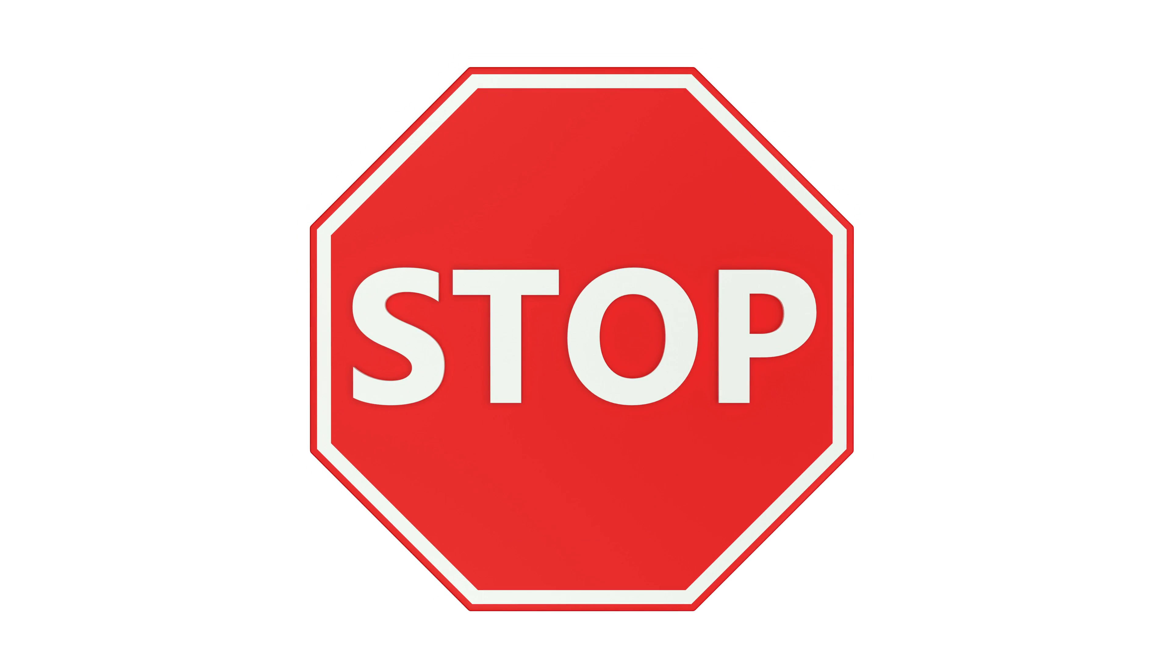 Stop sign image.