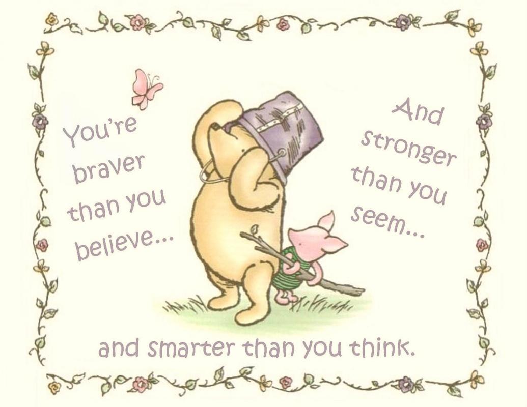 Winnie The Pooh Friendship Quote.