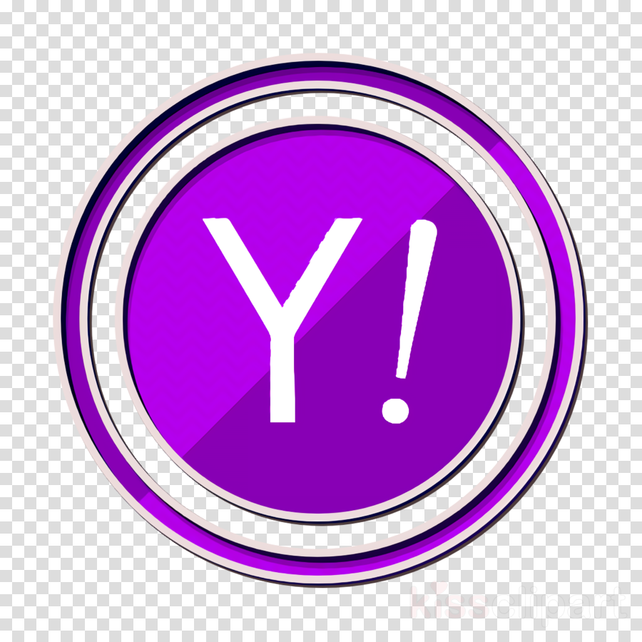 yahoo icon clipart.
