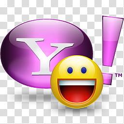 Yahoo Messenger Icon , Yahoo! Messenger Vista transparent.