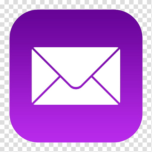 IOS Icons, mail icon transparent background PNG clipart.