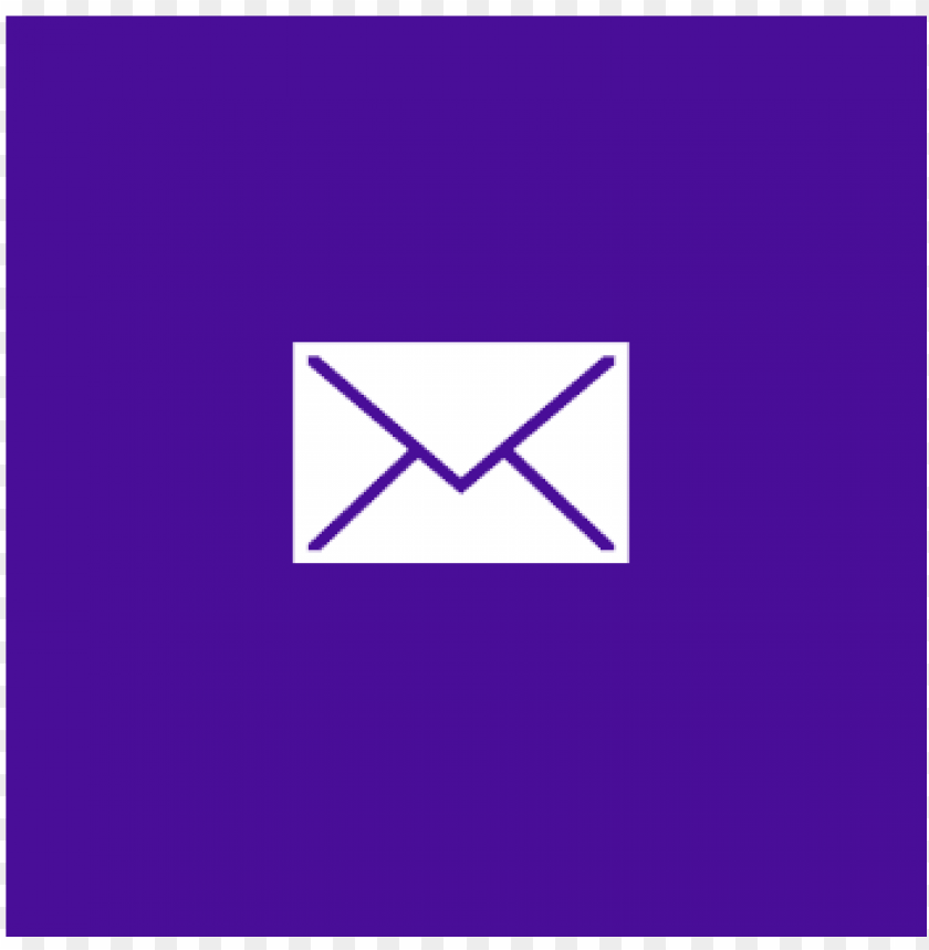 yahoo mail logo PNG image with transparent background.