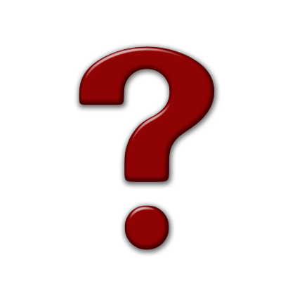 Red Question Mark Icon #41632.