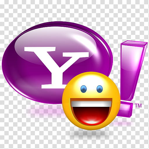Yahoo Messenger , Yahoo__x icon transparent background PNG.