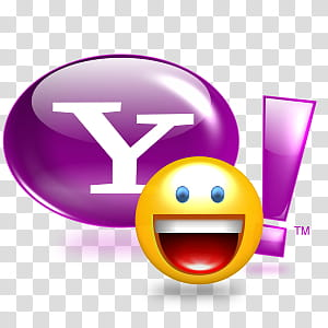 Yahoo Messenger , Yahoo__x_ icon transparent background PNG.