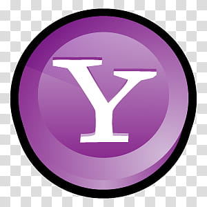 D Cartoon Icons III, Yahoo Messenger Alternate, Yahoo logo.