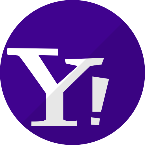 Chat, mail, media, messenger, network, social, yahoo icon.