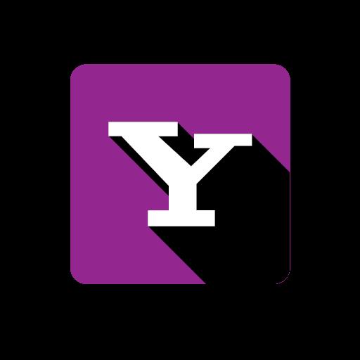 lilac social yahoo icon.