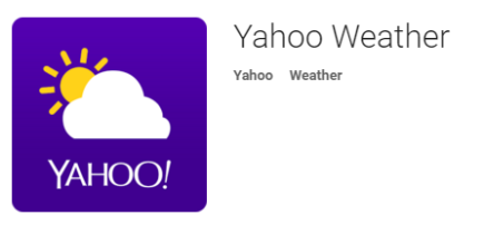Download Yahoo Weather APK Free for Android Mobiles.