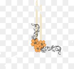 Yahrzeit Candle PNG.