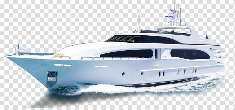White boat on body of water, Luxury yacht Boat Yacht charter.