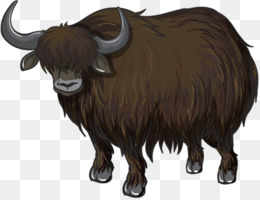 Domestic Yak PNG and Domestic Yak Transparent Clipart Free.