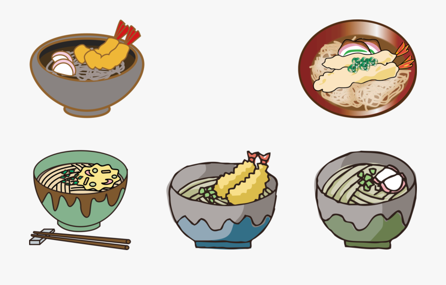 Japanese Cuisine Yakisoba Toshikoshi Soba Ramen.