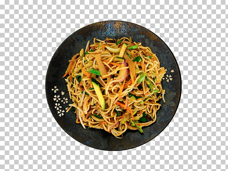 Chow mein Lo mein Chinese noodles Yakisoba Fried noodles.