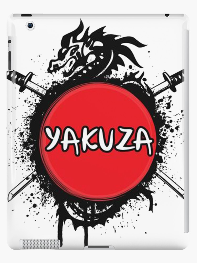 \'Yakuza 6 Merchandise Inspired Logo Design\' iPad Case/Skin by SAClothing.