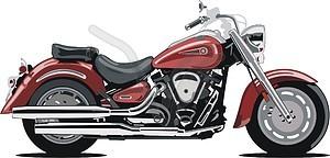 Yamaha motorcycle clipart.