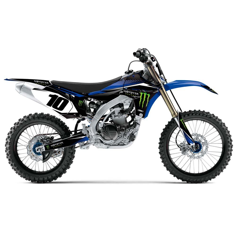 Yamaha yz250 clipart.
