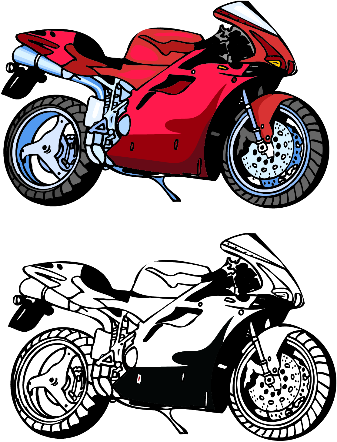 Yamaha clipart.