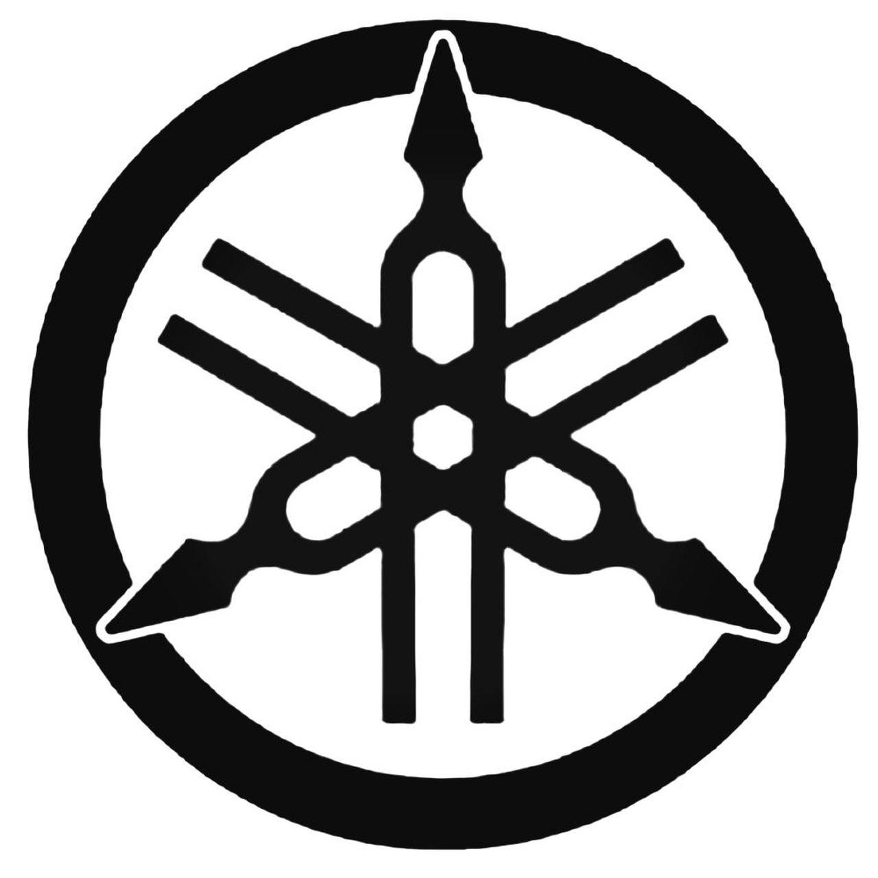 Yamaha Logo 2 Decal Sticker.
