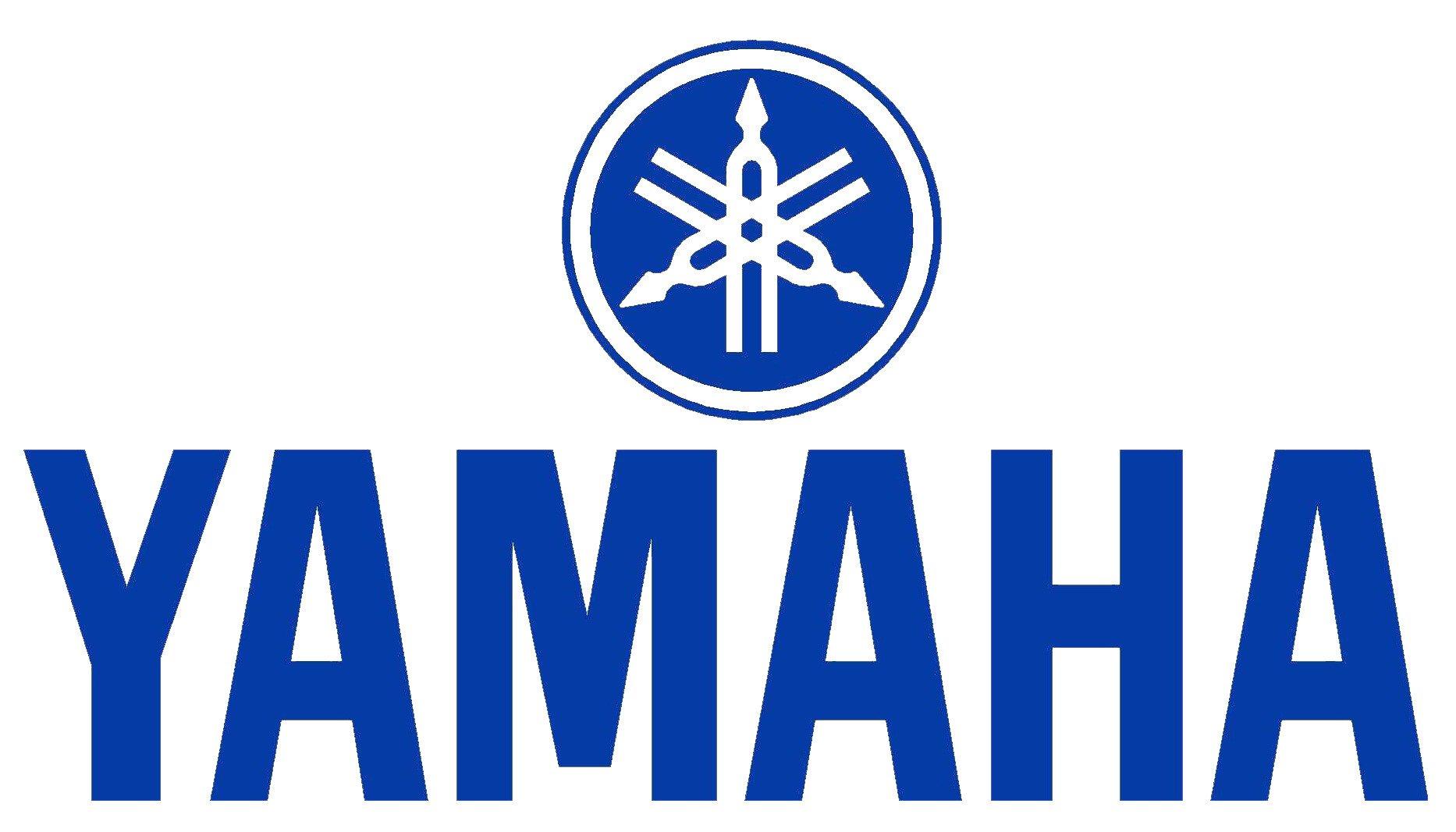 Yamaha Logo Decal / Sticker.