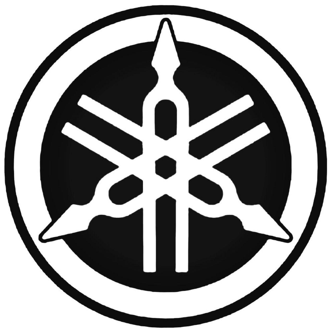 Yamaha Logo 1 Decal Sticker 2.