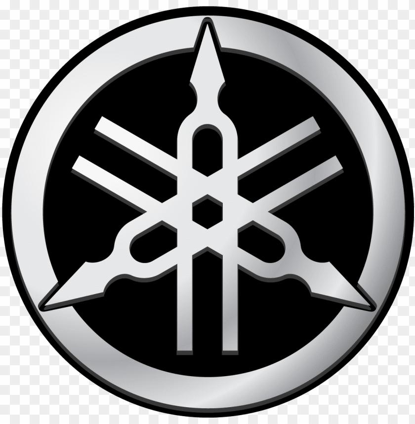 yamaha tuning fork logo vector.