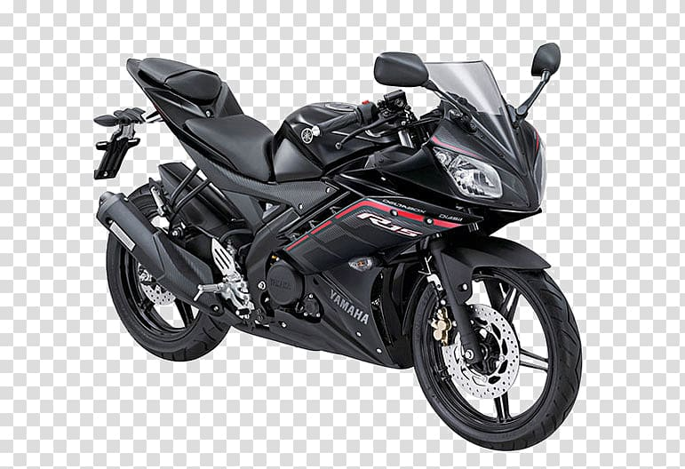 Yamaha motorcycle transparent background PNG clipart.