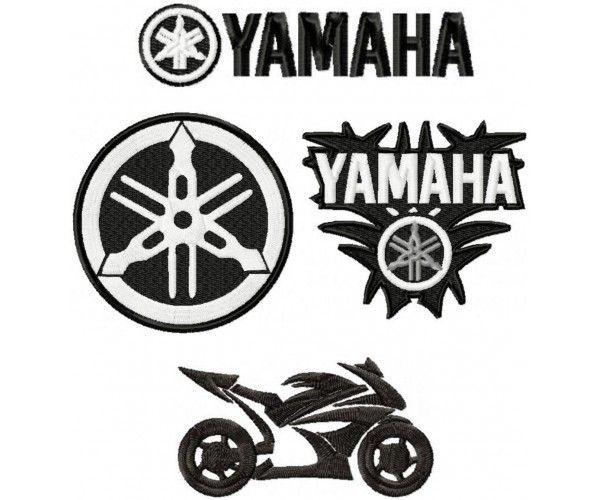 Yamaha Motorcycle Logo.