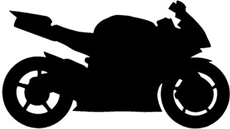 Crazydecals Motorcycle Yamaha R6 Vinyl Decal Sticker.