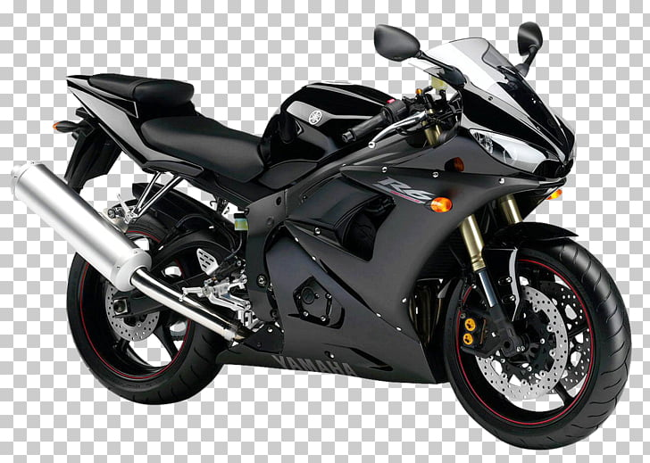 Sport bike Motorcycle Yamaha Motor Company Car , Black.