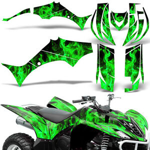 Details about Decal Graphic Kit Yamaha Wolverine 450 ATV Quad YFM450FX  Decal Wrap 06.