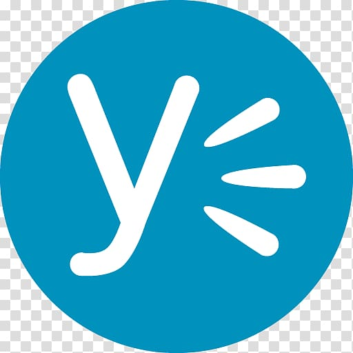Y and three lines logo, Microsoft Office 365 Yammer.