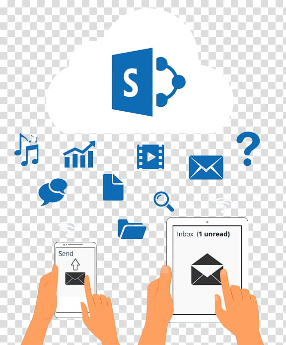 Cloud Computing Icon, Sharepoint, Office , MICROSOFT OFFICE.