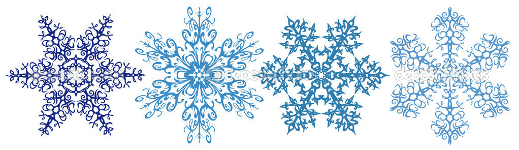 holiday snowflake border clipart free #11