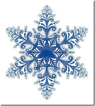 Snowflake Clip Art.