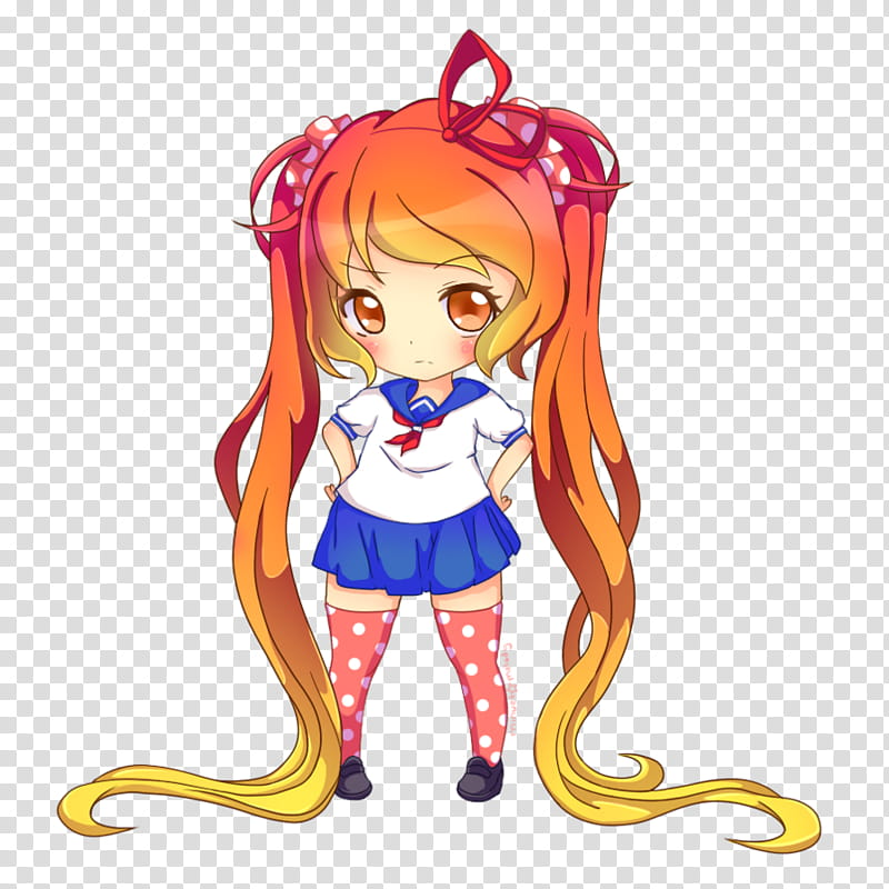 Yandere Simulator: Osana Najimi transparent background PNG.