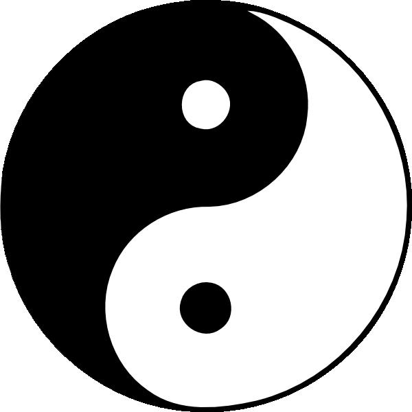 Yin And Yang Clipart., Yin Yang Free Clipart.