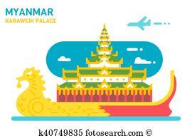 Yangon Clipart Royalty Free. 45 yangon clip art vector EPS.