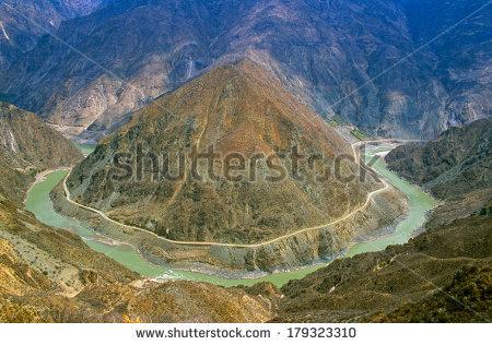 Yangtze River Stock Images, Royalty.