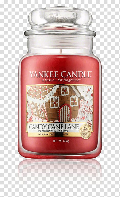 Yankee Candle Wax Product Perfume, candy house transparent.