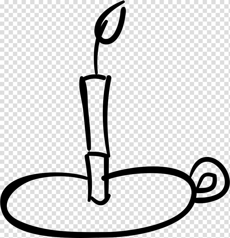 Light Bulb Cartoon, Light, Candle, Candlestick, Burning.